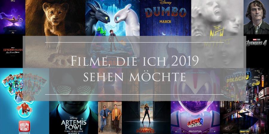 Filme, die ich 2019 sehen möchte