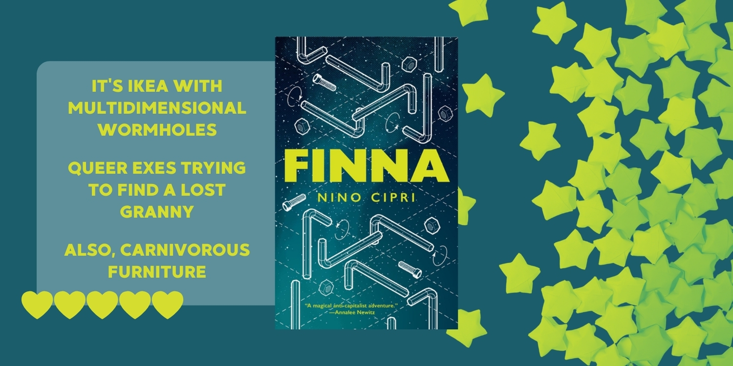 Furniture Stores and Dimensional Holes: Finna by Nino Cipri