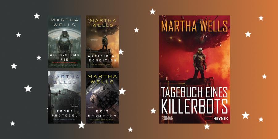 Murderbot vs. Killerbot: Martha Wells' Novellen und ihre Übersetzung