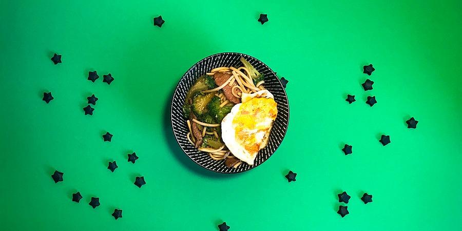A Month of Pasta: Scharfe Sesam Lamm Udon