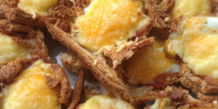 A bis Z Backchallenge Woche 2: B wie Bacon-Frühstücksmuffins