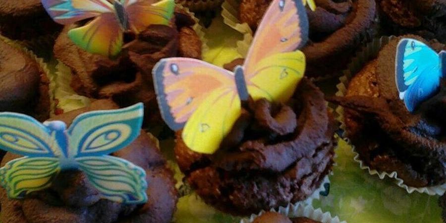 A bis Z Backchallenge Woche 3: C wie Chili-Schoko-Cupcakes mit Eierlikör