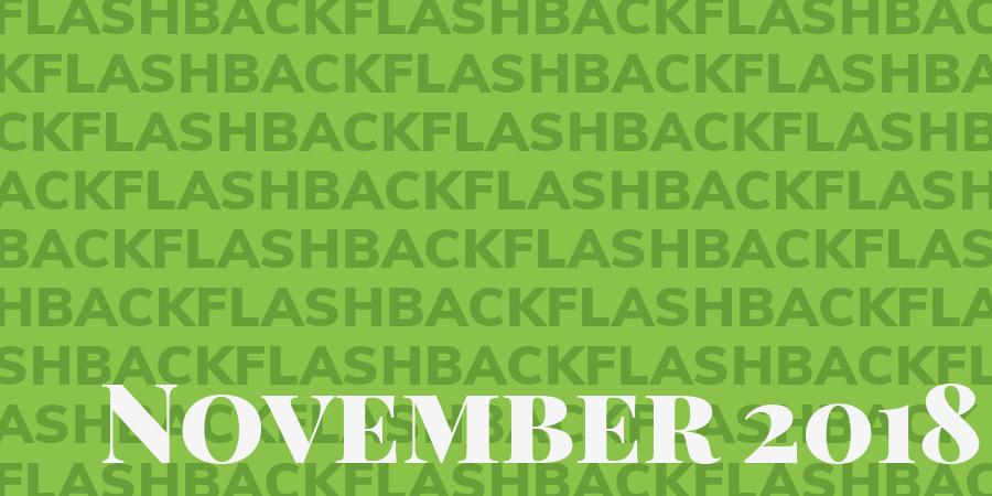 Flashback November 2018