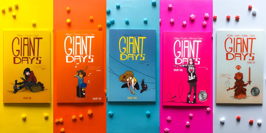 Allison, John: Giant Days: Das erste Jahr (Volume 1-5)