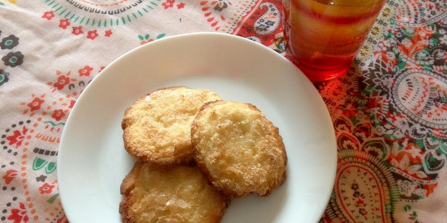 A bis Z Backchallenge Woche 9: I wie Ingwer-Zitronen-Cookies