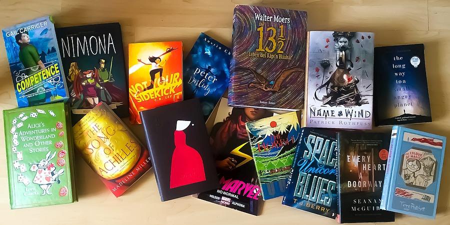 Ein Genre, 42 Buchempfehlungen – Der Lieblingsgenre Tag
