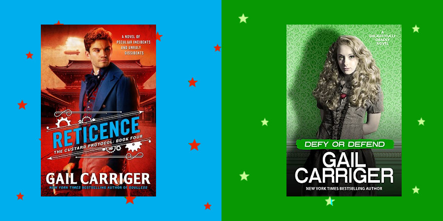 Parasolverse Spin-Offs, Prequels, Sequels, Problems … Reticence and Defy or Defend by Gail Carriger