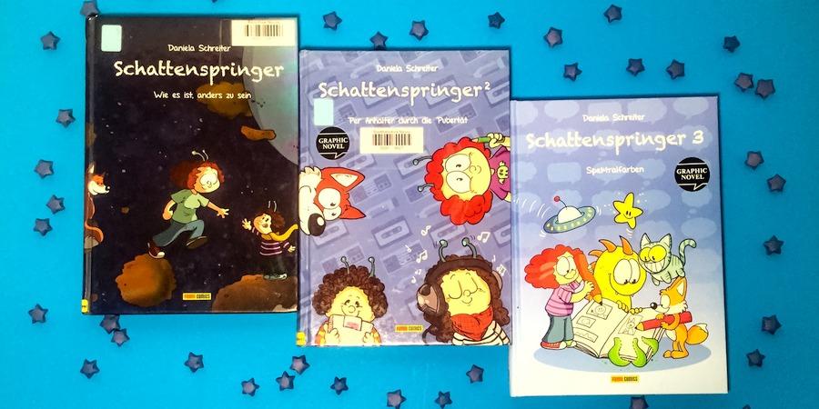Schattenspringer & Autistic-Hero-Girl – Die Comics von Daniela Schreiter