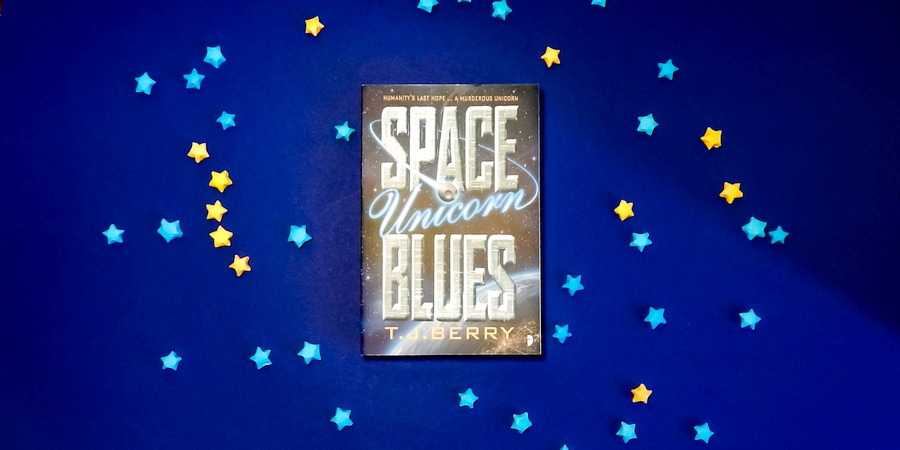 Berry, T.J.: Space Unicorn Blues