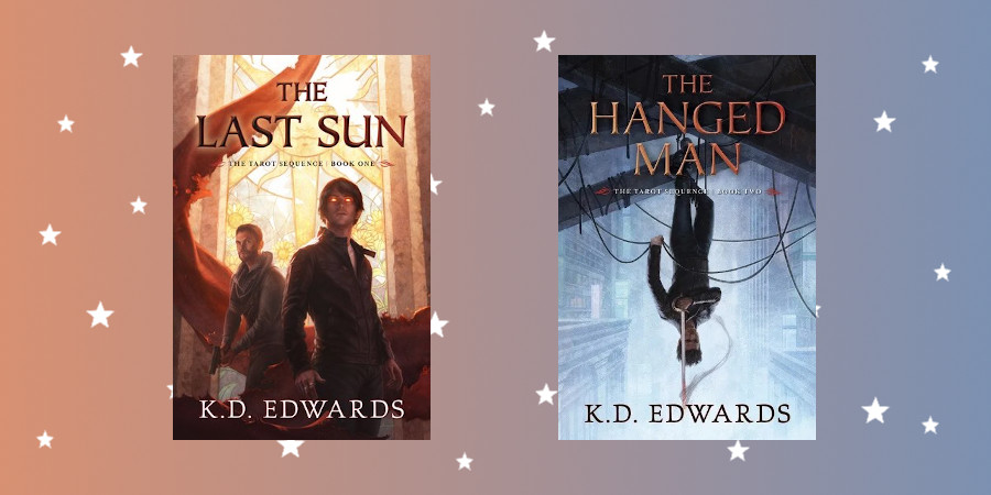 Adventures in New Atlantis: The Last Sun and The Hanged Man by KD Edwards