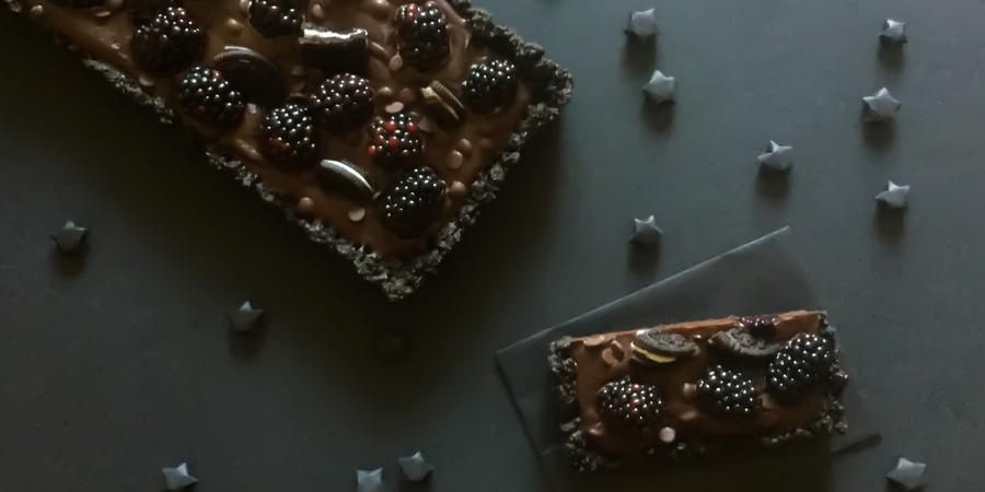 A bis Z Backchallenge Woche 21: U wie Ultra-Dark Chocolate Tarte